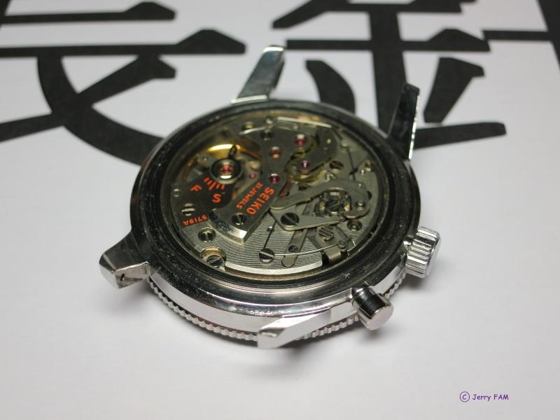 """[REVUE] SEIKO 5719 """"One Button"""" - Le premier chronographe bracelet SEIKO Ensemb11"""