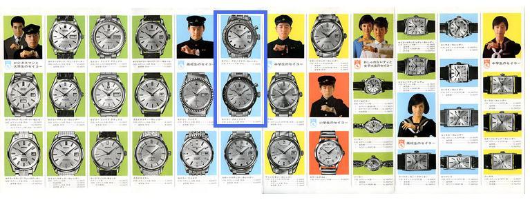 """[REVUE] SEIKO 5719 """"One Button"""" - Le premier chronographe bracelet SEIKO Pub_1910"""
