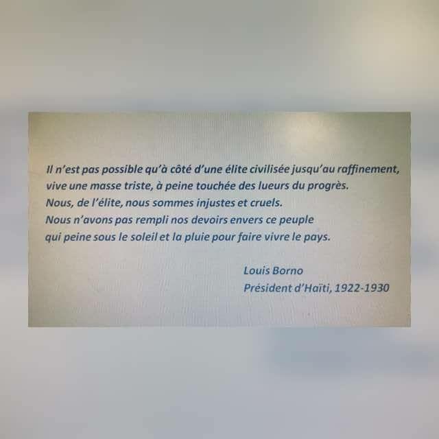 Le président Louis Borno  ,  l'élite haïtienne  est cruelle  et injuste 36852310