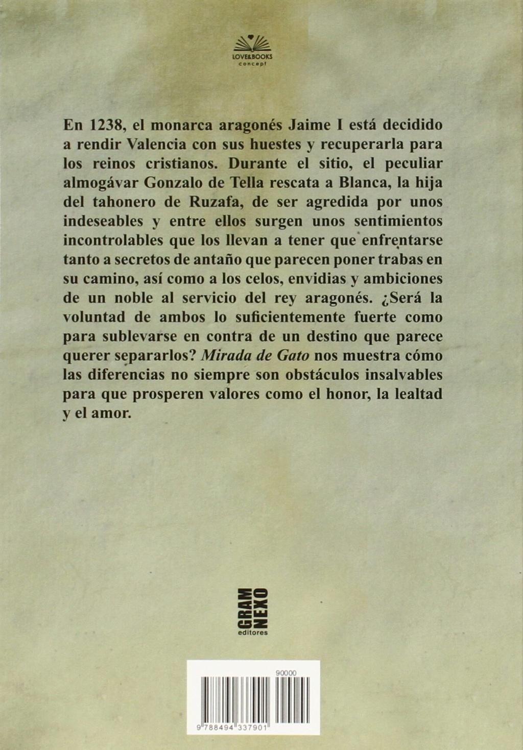Mirada De Gato . novela 813oj910