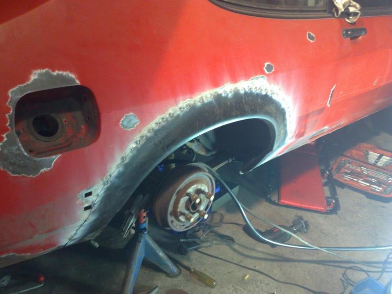 Håcke-Ford Capri Bromsad 327whp 583wnm SÅLD 20091210