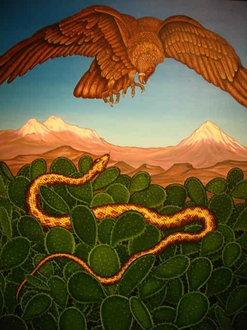 Shqiponja ne Mitologjine  Shqiptare Quetza10