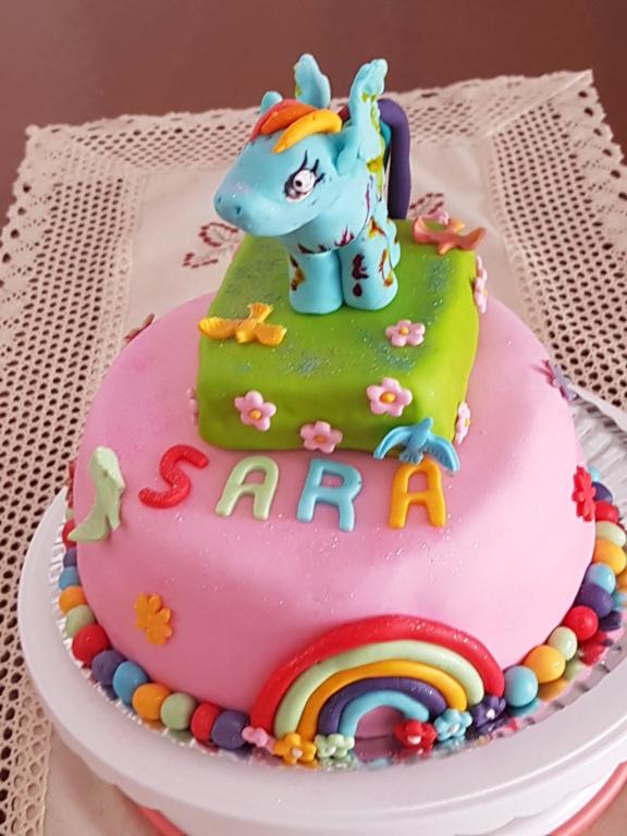 Tarta Pony para Sara 410