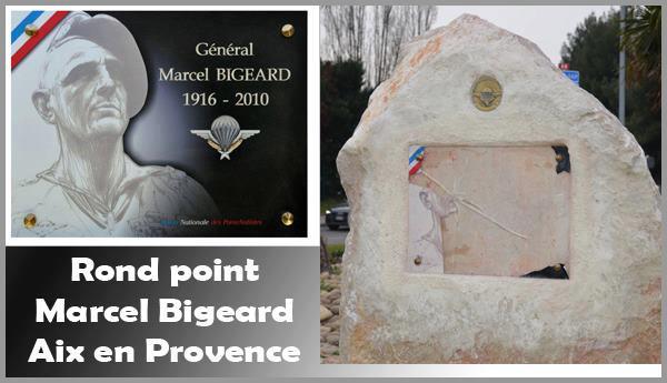 Le général Piquemal dévoile une plaque en hommage au général Bigeard VANDALISEE un mois après Stale_10