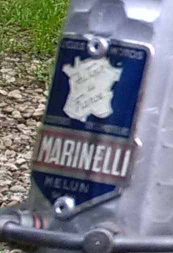 routier Marinelli Plaque10
