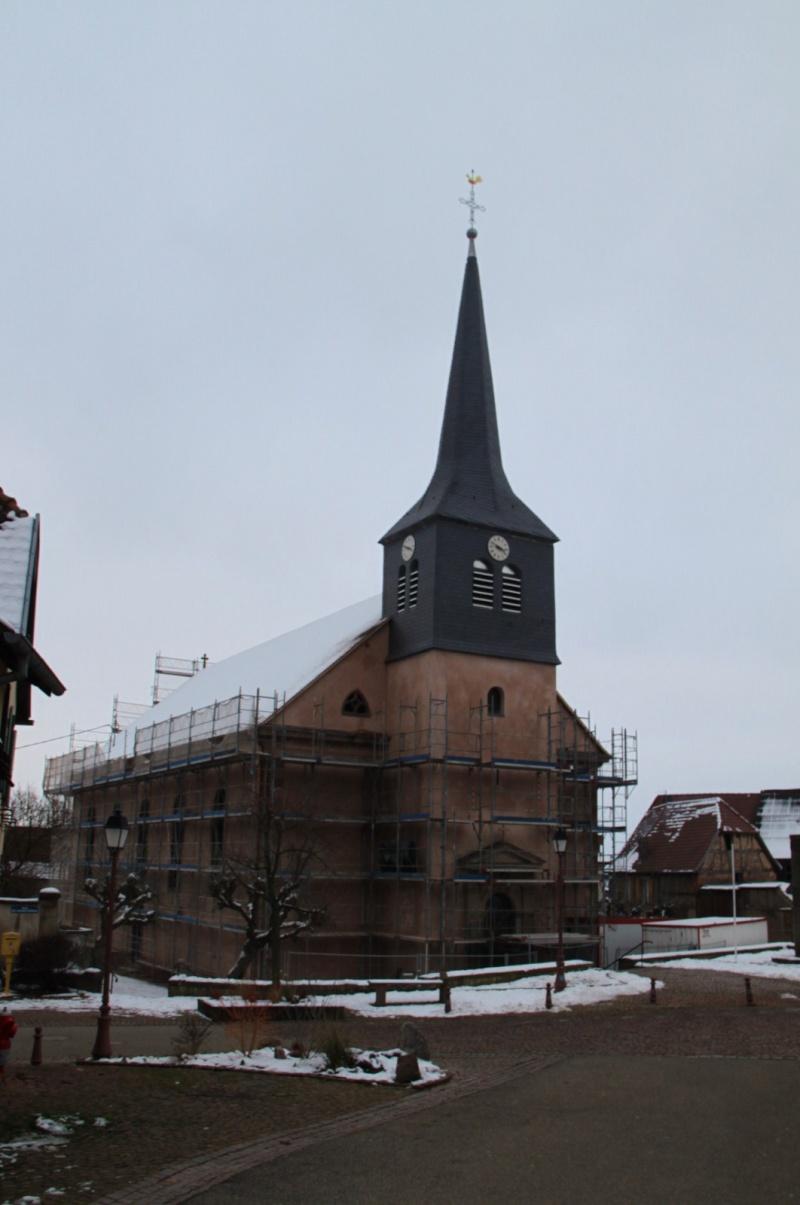 Le chantier de restauration de l'église simultanée de Wangen ... - Page 2 Img_1439