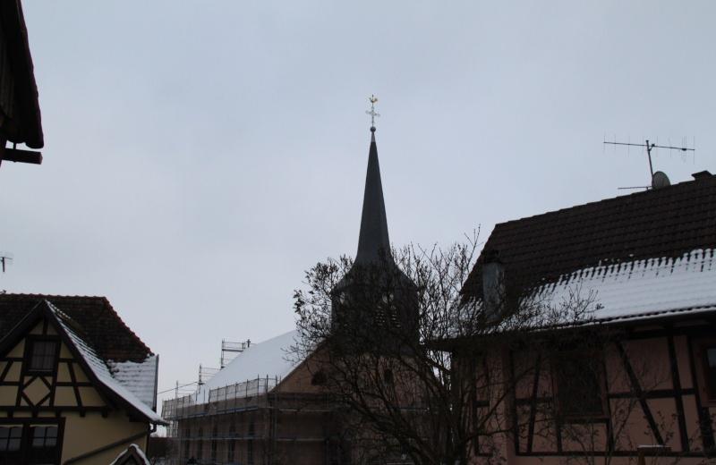 Le chantier de restauration de l'église simultanée de Wangen ... - Page 2 Img_1442