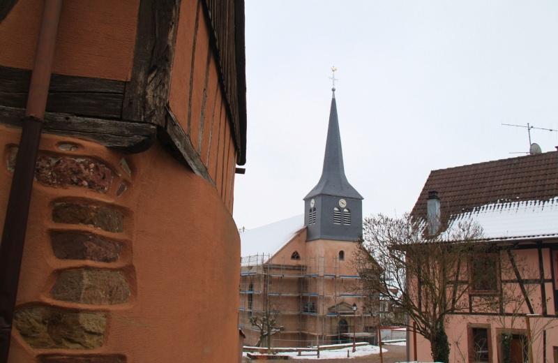 Le chantier de restauration de l'église simultanée de Wangen ... - Page 2 Img_1443