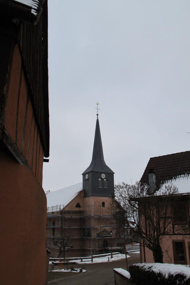 Le chantier de restauration de l'église simultanée de Wangen ... - Page 2 Img_1510