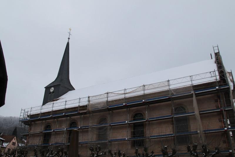 Le chantier de restauration de l'église simultanée de Wangen ... - Page 2 Img_1517