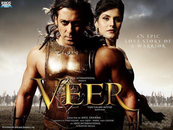 Veer-upcoming bollywood release introducing the dashing salman Khan Veer-w11