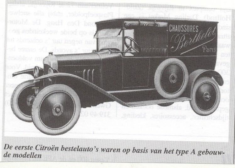 Type A , le début des Citroën Typeav10