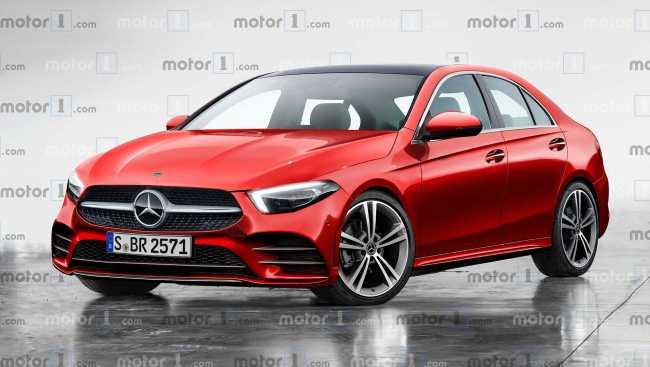 Projeção: Mercedes-Benz Classe C 2021 adotará estilo do Classe A 2020-m11