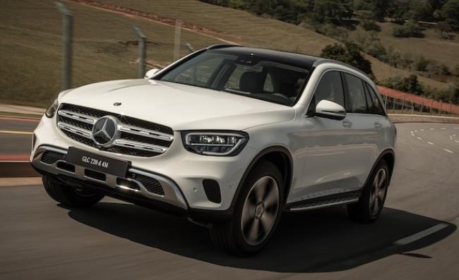 Mercedes apresenta nova família GLC com MBUX e motor a diesel Fa1d4210