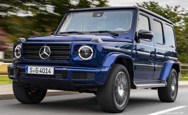 """Mercedes G comemora 40 anos """"mais forte que o tempo"""" Merced15"""