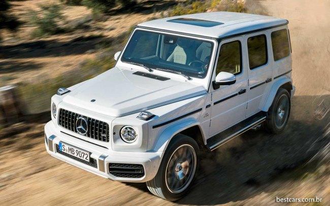 Mercedes confirma que Classe G ganhará versão elétrica Merced30