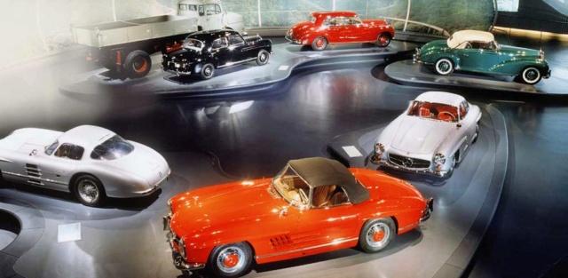 Museu da Mercedes-Benz pode ser visitado pela internet Merced32