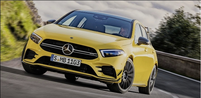 Mercedes-AMG A35: hatch de 306 cv chega ao Brasil por R$ 279.900 Tela40
