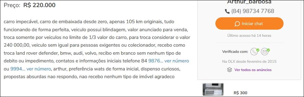G320 1996 - R$ 220.000,00 Tela510