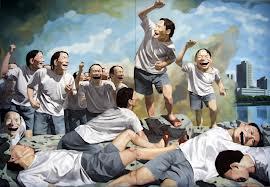 Yue Minjun [Fondation Cartier] Minjun18