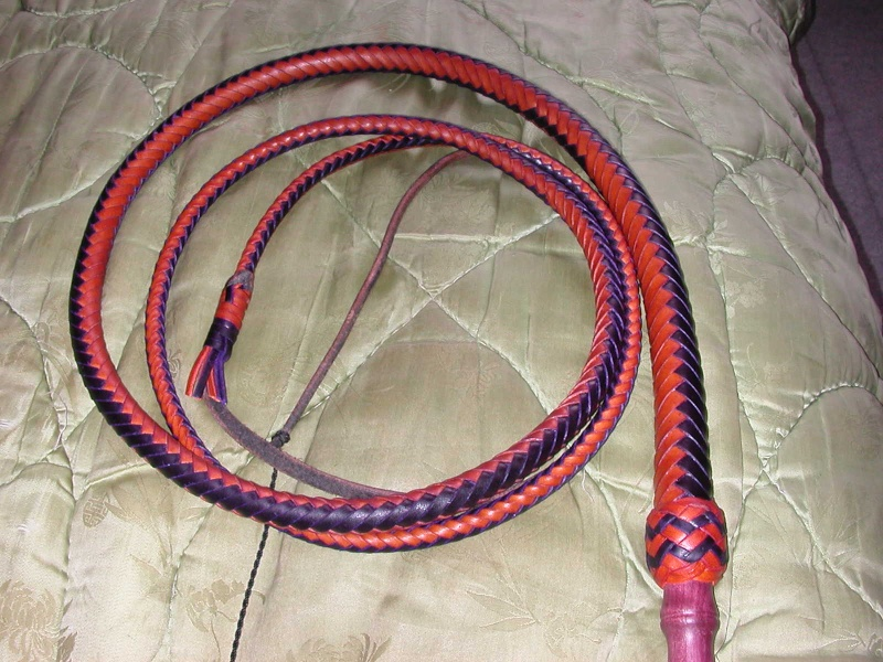 8ft Skip's two-tone with wood handle bullwhip Dscn0311
