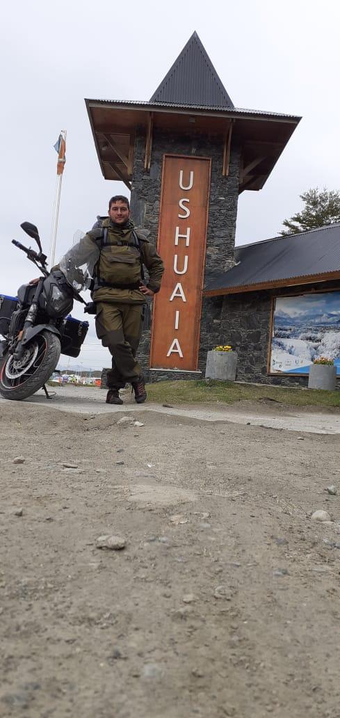 El domianr se fue a Ushuaia Domina23