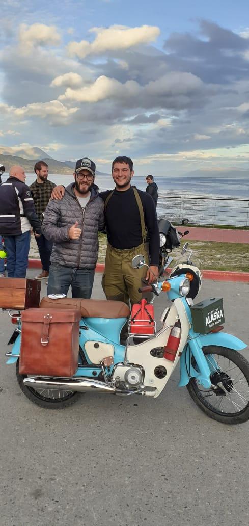 El domianr se fue a Ushuaia Domina24