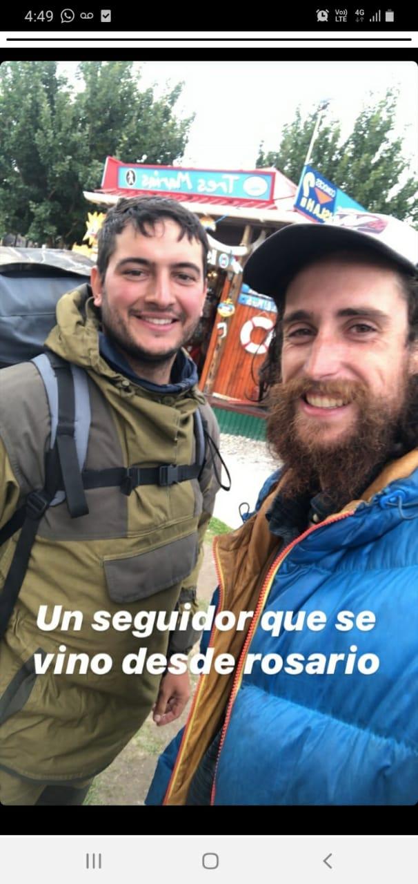 El domianr se fue a Ushuaia Domina25