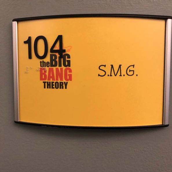 The Big Bang Theory (dans le rôle d'elle-même) Captu678