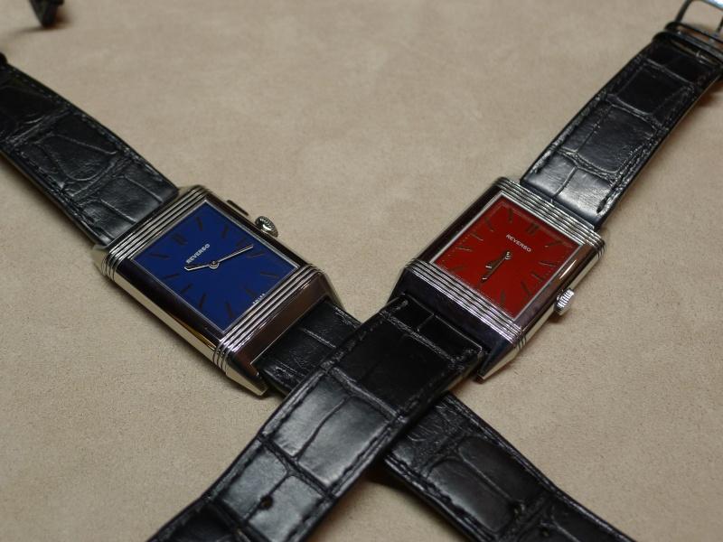 [SIHH2013] Reverso Ultra Thin Duoface Bleu (Edition Boutique) L1050610