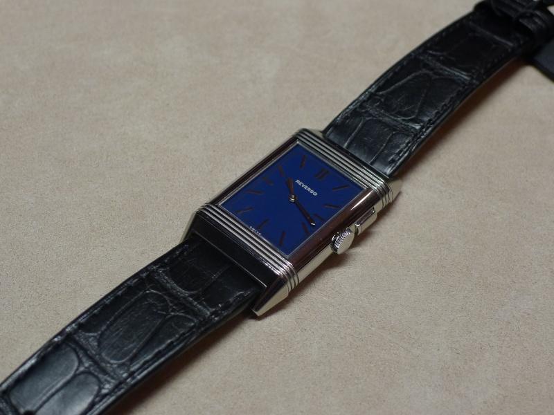 [SIHH2013] Reverso Ultra Thin Duoface Bleu (Edition Boutique) L1050616