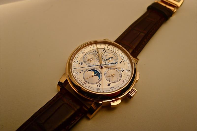 [SIHH2013] Lange chronographe rattrapante quantième perpétuel L1050914
