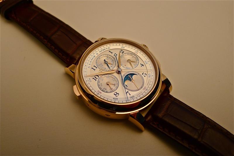 [SIHH2013] Lange chronographe rattrapante quantième perpétuel L1050915