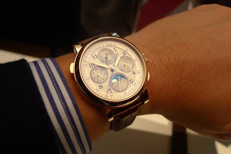 [SIHH2013] Lange chronographe rattrapante quantième perpétuel L1050918