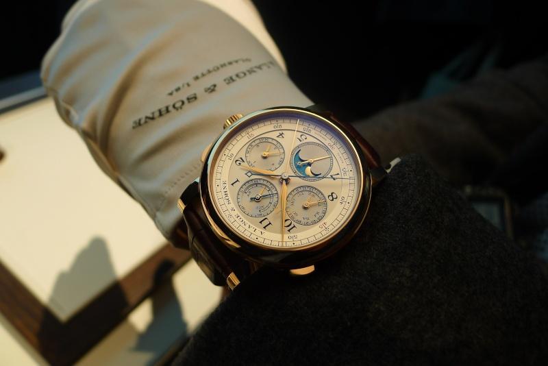 [SIHH2013] Lange chronographe rattrapante quantième perpétuel L1050919
