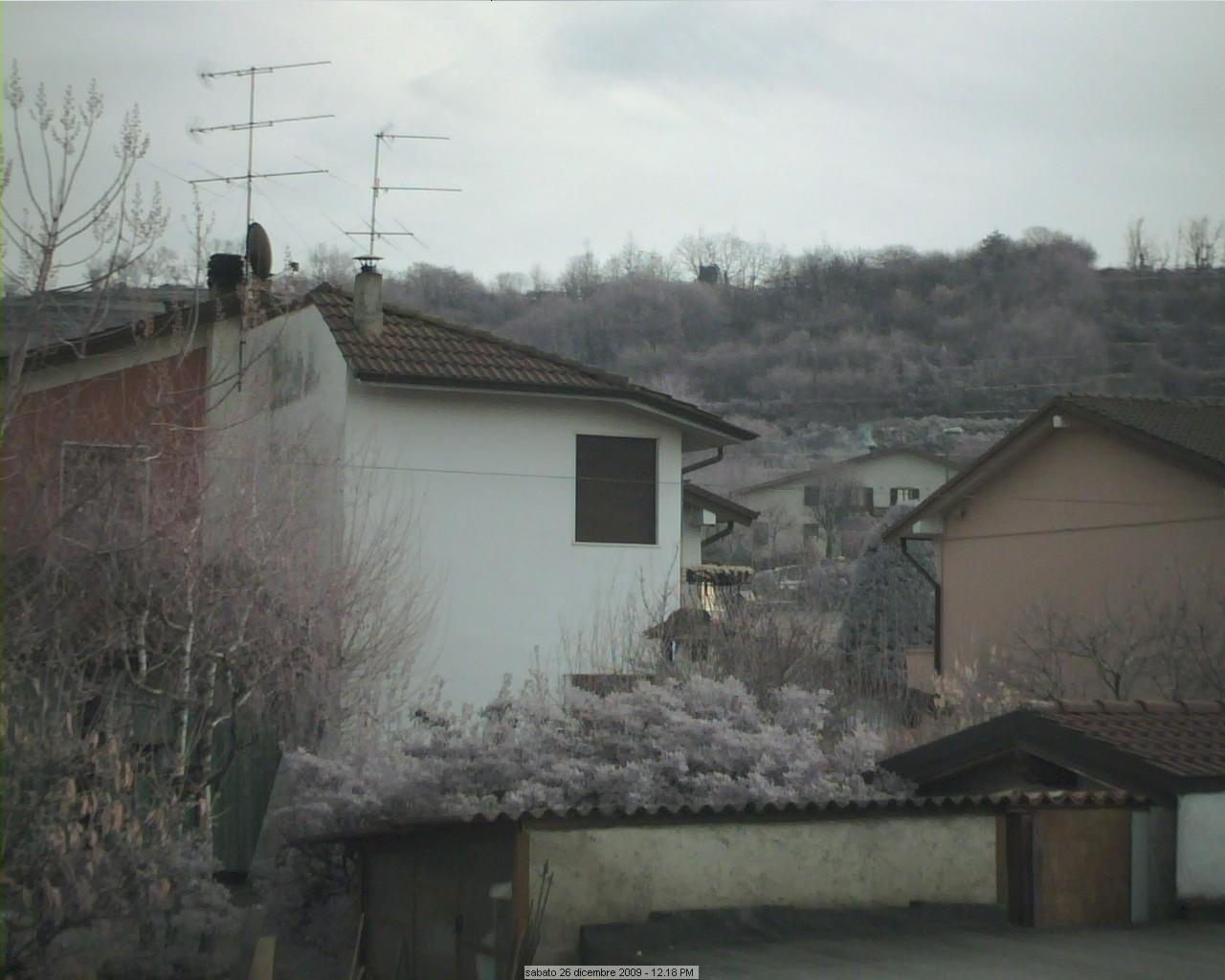 Webcam Casaglio, installazione su tetto Gussag13