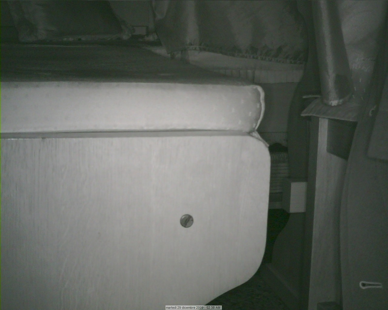 Webcam Casaglio, installazione su tetto Gussag14