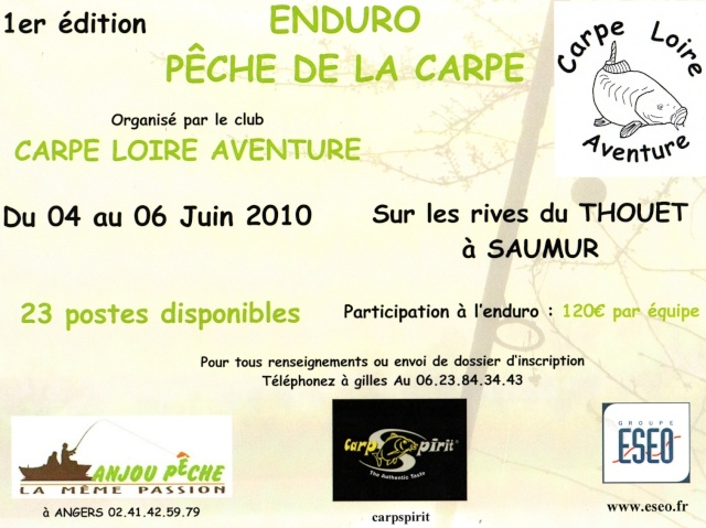 ENDURO CARPE LOIRE AVENTURE - Page 2 Affich10