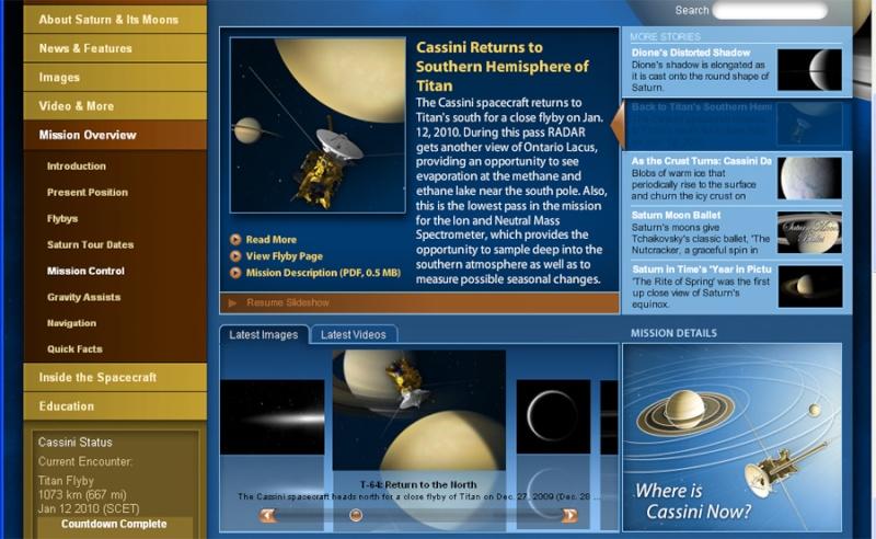 Survol de Titan (Cassini) Titan110