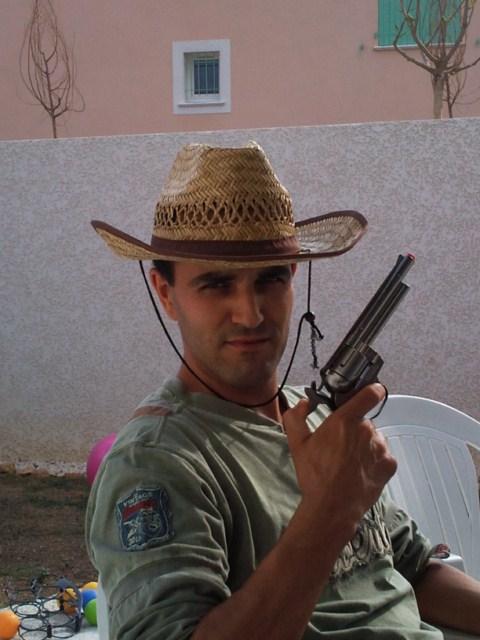 Happy birthday, Cowboy :) YEEEHAA! Photo012