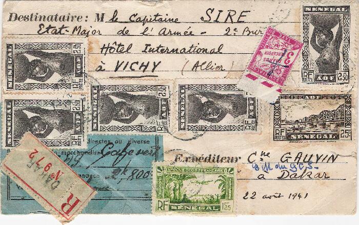 Taxe postale douanière Tpd10