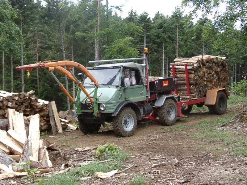 unimog mb-trac wf-trac pour utilisation forestière dans le monde 07210010