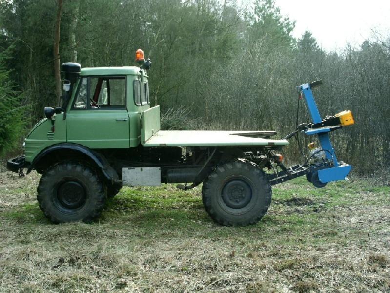 unimog mb-trac wf-trac pour utilisation forestière dans le monde 12310