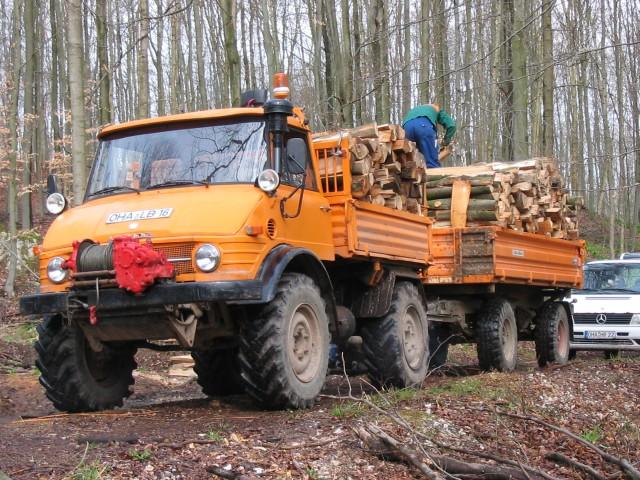unimog mb-trac wf-trac pour utilisation forestière dans le monde 406mue11
