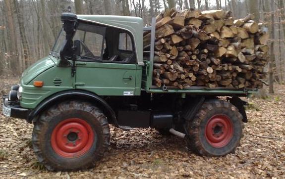 unimog mb-trac wf-trac pour utilisation forestière dans le monde 410