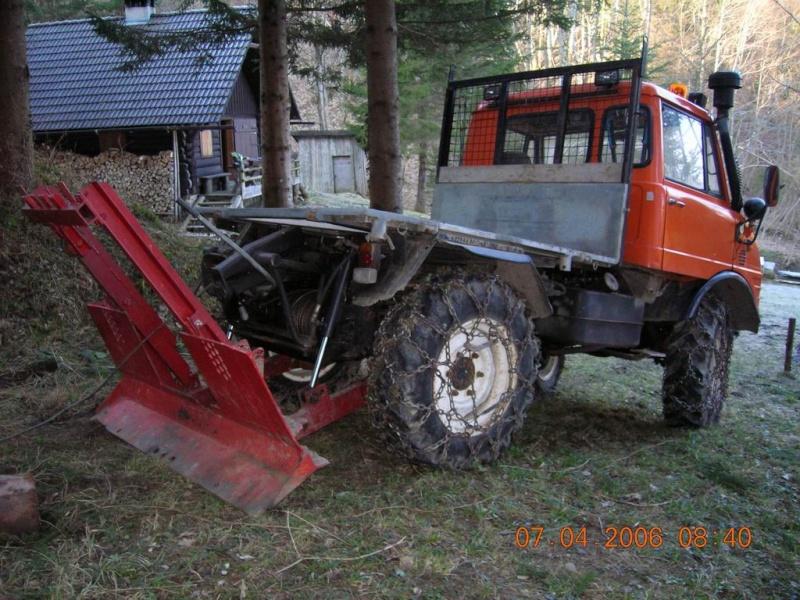 unimog mb-trac wf-trac pour utilisation forestière dans le monde Aufarb10