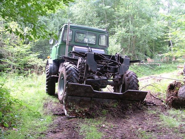 unimog mb-trac wf-trac pour utilisation forestière dans le monde Bild_110