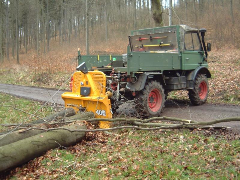unimog mb-trac wf-trac pour utilisation forestière dans le monde Bilder11