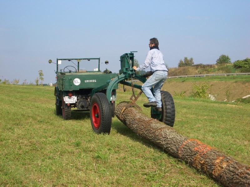 unimog mb-trac wf-trac pour utilisation forestière dans le monde Cimg4412