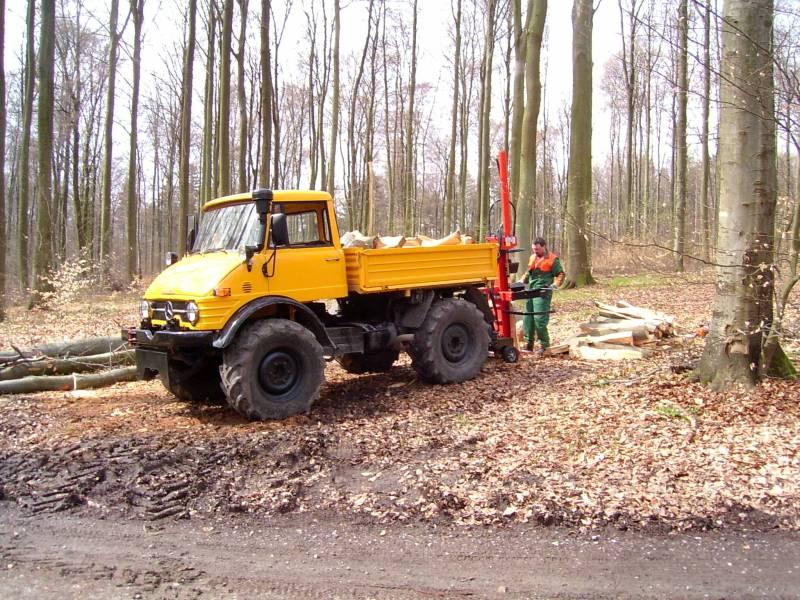 unimog mb-trac wf-trac pour utilisation forestière dans le monde Holzma10